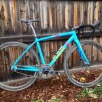 Trek Crockett single speed CX bike: SMP Forma saddle, 46 x 23 with Rotor ring, Hylex brakes, Bontrager carbon wheels