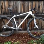 Trek 29er test bike 1 x 10, SMP Forma saddle
